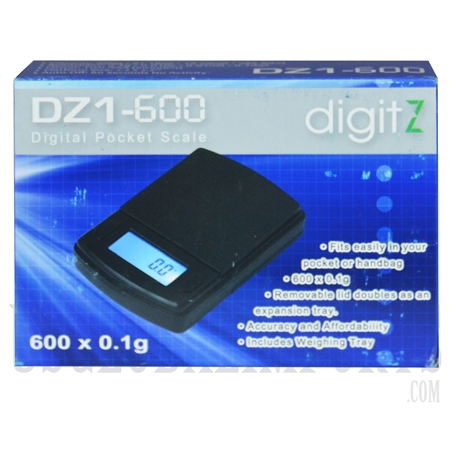 SC-125 digitZ Pocket Scale 600 x 0.1g - DZ1-600