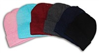 V-10 COLOR ASSORTED BEANIES