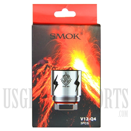 VPEN-628 SMOK V12-Q4 Replacement Coils. 3pcs
