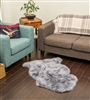 NZ Sheepskin Rug | Grey Single Sheepskin