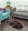NZ Sheepskin Rug | Brown Single Sheepskin