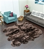 Brown NZ Shearling Rug