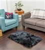 NZ Sheepskin Rug | Black 2x3ft Sheepskin