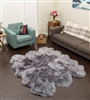 Sheepskin Rug | Sexto Grey Shearling Rug