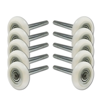 "Save on 2"" Nylon Garage Door Rollers (with 13-Ball Bearing & 4"" Stem)!"
