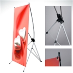 "X-Stand 32""x71"" banner stand & insert"