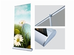 "Deluxe 33""x81"" banner stand & insert"