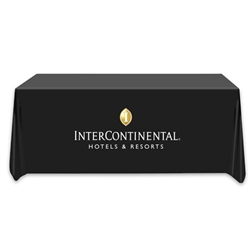 Intercontintental Hotel & Resorts logoed table cover, 6'