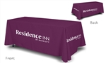 Residence Inn by Marriott logoed table cover