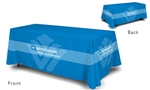Wyndham logoed table cover, 6'