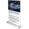 Silver Table Top Retractable Banner