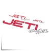 "Decal Sheet Jeti USA Red/White 3""/6""/12"" (75/150/305mm)"