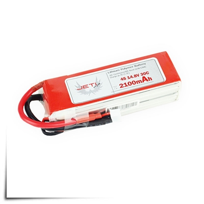 Jeti Pro Power 2100mAh 30C 4S Li-Poly Battery Packs