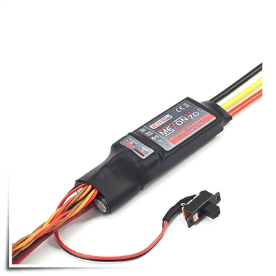Jeti Mezon Pro 70 LMR Brushless ESC w/Telemetry, Integration