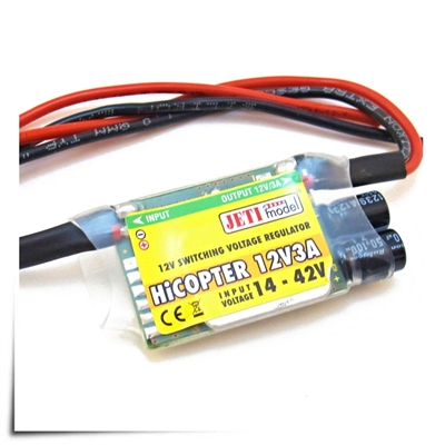 Jeti Voltage Regulator HiCopter 12V/3A (4-10S)