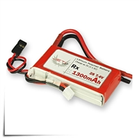 Jeti Receiver Battery Pack 1300mAh 7.4V Li-Poly