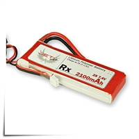 Jeti Receiver Battery Pack 2100mAh 7.4V Li-Poly