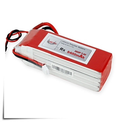 Jeti Receiver Battery Pack 5400mAh 7.4V Li-Poly