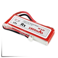 Jeti Receiver Battery Pack 1800mAh 6.6V LiFe