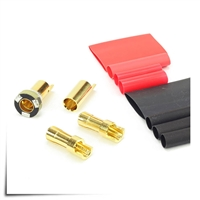 Jeti AFC Anti-Spark Connectors 5.5mm (150A) 5 Pair Pack