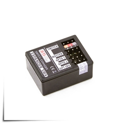 Jeti Universal Wireless Switch Expander SW4