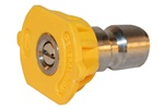 PRESSURE WASHER QC NOZZLE  YELLOW