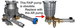 FAIP VERTICAL PRESSURE WASHER PUMP MTPV93519