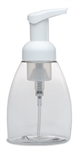 Foamer Bottle & Pump Combo - 250 ml - Oval - White Pump
