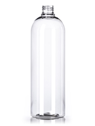 Bottle - Plastic - Cosmo Round - Clear - 28/410 - 32 Oz (Set of 79)