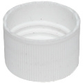 Cap - Plastic - Dispensing - White - 20/410 (Set of 25)