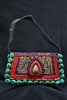 Himalayan Beaded bag with Turquoise handle