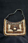 Small Himalayan Beaded Bag