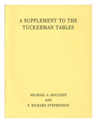 Supplement to the Tuckerman Tables