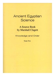 Ancient Egyptian Science, Vol. I