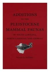 Additions to the Pleistocene Mammal Faunas of South Carolina