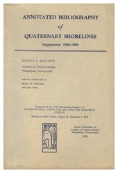 Annotated Bibliography of Quaternary Shorelines: Supplement 1965-1969: Special Pub. 10 of The Academy of Natural Sciences of Philadelphia