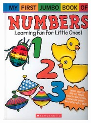 My First Jumbo book of Numbers. Children will love