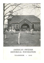 American Swedish Historical Museum: Yearbook -- 1949