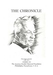 American Swedish Historical Foundation: The Chronicle, Summer 1954