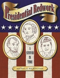 Presidential Redwork: A Stitch in Time