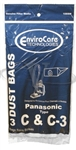 Panasonic Paper Bag Type C3 3 Pack