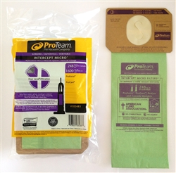 Upright Vacuum Bags Proteam 103483 Paper Bags