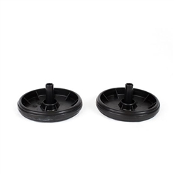 Proteam Procare 1500 15xp Upright Rear Wheel 2 Pack Set 104306