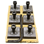 Edco Strip-Sert Pro Tungsten Carbide Blocks - 6 Pack - Part #12407