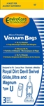 Royal Replacement Type U Paper Bag (3 Pk) 157