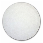 "Oreck Orbiter 12"" Polish Pad White Case of 5 Pads 237051"
