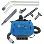 Sandia Super 1.5 HP 1340 watts Hipster 2-Stage Motor 6-Quart Hip Vac w/ 5 pc. Standard Tool Kit 30-2001