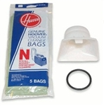 Hoover Adapter Kit for Portapower, Bag w/ 5 Pack N Bags and Bag Adapter.# 4010050N.