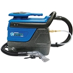 Sandia Super Spot-Xtract 3-Gallon Spot Extractor w/ Clear View Plastic Hand Tool - 55 psi Pump, 130 CFM, 804 watt, 2-Stage Motor , 50-3000