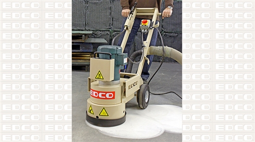 edco 59800 wedge-less single-disc floor grinder
